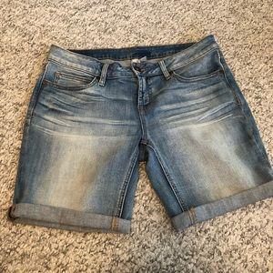 JC PENNEY Denim Shorts